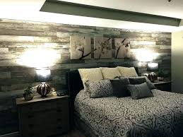 wood plank accent wall bedroom design inspiration reclaimed walls diy