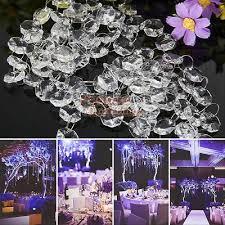 33ft acrylic garland diamond crystal bead chandelier diy wedding hanging decor