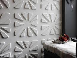 decorative wall panel malaysia plain 3d wall tile caryotas design