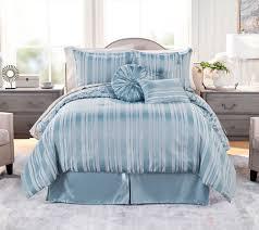 Northern Nights Jacquard Reversible 7-Piece Queen Comforter Set — QVC.com