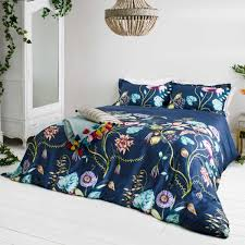 quintessence double duvet cover navy tap to expand