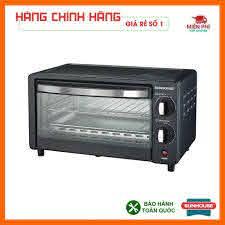 Lò nướng sunhouse SHD4206, Lò nướng điện Sunhouse 10L công nghệ nướng  Halogen tiết kiệm điện năng.