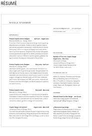 Resume - Nicolestormer.com