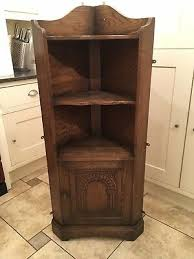 low corner shelf unit free standing old charm style
