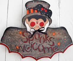 Decorative Yard Signs Vampire Door Hanger Dracula Yard Sign Outdoor Wood Halloween Yard 77
