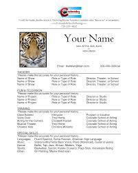 Acting Modeling Resume  beginner modeling resume samples template     Brefash Actor Sample Resume how how to write a acting resume sample actor resume  child sample sample
