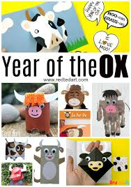 The ox is an honest, earnest animal. Year Of The Ox Crafts For Chinese New Year 2021 Red Ted Art