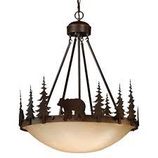 montana inverted chandelier