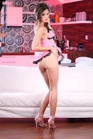 Twistys Caprice Caprice stimulates her tight pink pussy Porn.