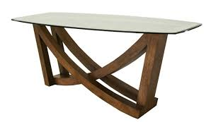 O  Decoration Stone Hall Table With Contemporary Solid  Walnut