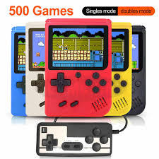 500 IN 1 Retro Video <b>Game</b> Console <b>Handheld Game Portable</b> ...
