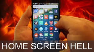 How To Reset Homescreen Layout on Android - YouTube