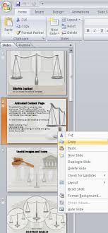 How To Create A Template In Powerpoint 2010 Copy Slides From Powerpoint Templates Presentermedia Blog