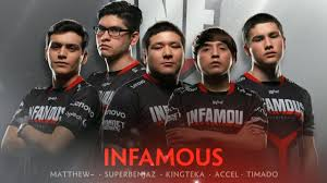 team infamous player intro the international 2017 dota 2 youtube