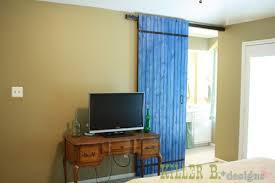 Delighful Diy Interior Sliding Door Throughout Simple Design