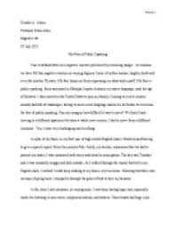 fear of public speaking essays fear of public speaking essay education weakness essays