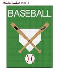 Baseball Bat Chart Instant Download Chella Crochet Baseball Plate Bat Ball Pattern
