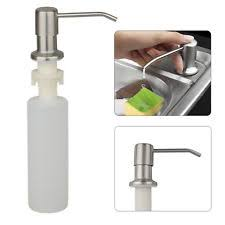 Cool soap dispenser Bathroom 300ml Sink Soap Dispenser Stainless Steel Kitchen Soap Hand Soap Dispenser Pump Weddbook Bathroom Soap Dishes Dispensers Ebay