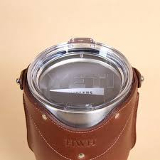leather tumbler sleeve for 30 ounce yeti rambler cup plastic yeti lid