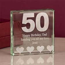 celebrate with a touch of gl a perfect 50th gift50th birthday