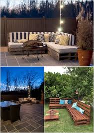 diy outdoor pallet furniture. 2. Build A Sofa Sectional For Your Garden Or Patio Area Diy Outdoor Pallet Furniture