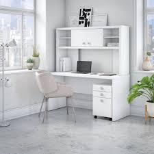 white office credenza. White Credenza Desk With Hutch And File Cabinet - Echo | RC Willey Furniture Store Office