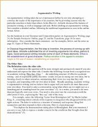 writing a good argumentative essay example of good argumentative essay unique 6 college argumentative