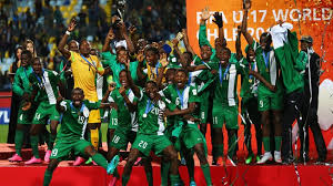 Image result for Nigeria won 2015 FIFA U-17 World Cup