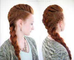 Viking Hairstyle Female silvousplaits hair recreations pinteres 8413 by wearticles.com