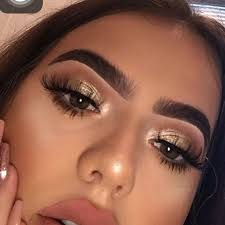 gold eyeshadow makeup ideas for min