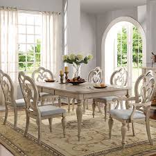 Antique White Dining Room Interesting Inspiration Ideas