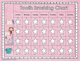 Select from premium tooth color chart images of the highest quality. Tooth Brushing Charts Free Download Wise Owl Factory