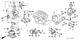 sjc a genuine honda rubber assy engine side mounting 2006 honda ridgeline 4 door rt ka 5at engine mounts