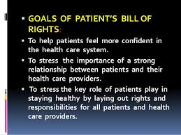 bill of rights ppt patient rights ppt