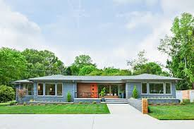 mid century modern front porch. Fascinating American Architecture Style Feat Mid Century Modern Front Porch N