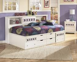 Zayley Twin Bookcase Side Rails B131 82 Bed Frame