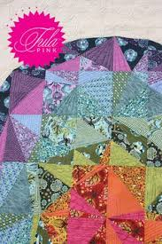 Quilt Tula Pink Birds Bees Scrappy Patchwork Lap Throw Colorful ... & Spacedust Pattern by Tula Pink Adamdwight.com