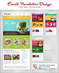 Free Download Newsletter Templates Email Newsletter Template Download Seasonal Email Newsletter