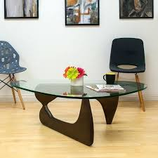 tempered glass top mod made mid century modern tempered glass top coffee table lincoln tempered glass