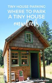 where to park a tiny house. Tiny House Parking Where To Park A On Wheels