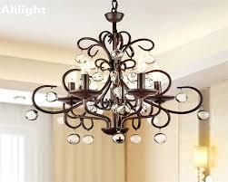 kitchen stunning chandelier for restaurant 32 elegant luxury vintage crystal lighting fixtures retro metal fancy lamp