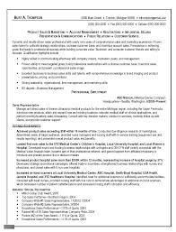 Template Sales Representative Resume Sample Templates Sales