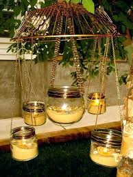 garden candle chandelier uk outdoor votive chand