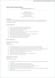Medical Office Manager Resume Samples Medical Office Resume Medical ...