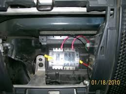 where to mount aux fuse panel inside from this fuse box the power cable comes straight from the battery thru the left side of the dash and the ground in on the right side by the