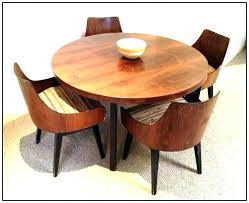 spinning expanding round table expandable round table mid century modern dining table set plans expandable round