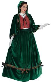 Victorian Christmas Caroler Fancy Dress Costume For Adults. Loading Zoom,  Please Wait. Specials