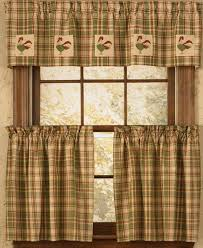 Alluring Rooster Kitchen Curtains Ideas Country Kitchen Curtains Mesmerizing Kitchen Curtains Ideas