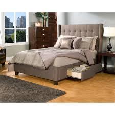 Full Upholstered Bed Frame Bed Bedding Using Outstanding Cal King Bed Frame For Chic
