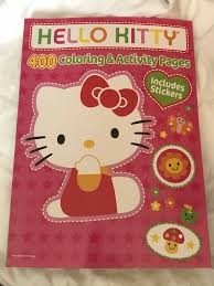 See more ideas about hello kitty colouring pages, hello kitty coloring, kitty coloring. Drawing Sketch Pads Hello Kitty Coloring Book Jumbo 400 Pages Featuring For Sale Online Ebay